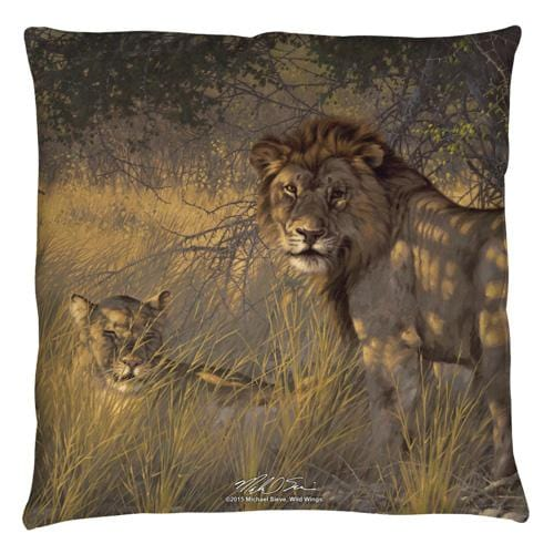 Wild Wings - Ladies & Gentleman 2 Throw Pillow
