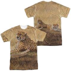 Wild Wings - African Cats Adult All Over Print 100% Poly T-Shirt