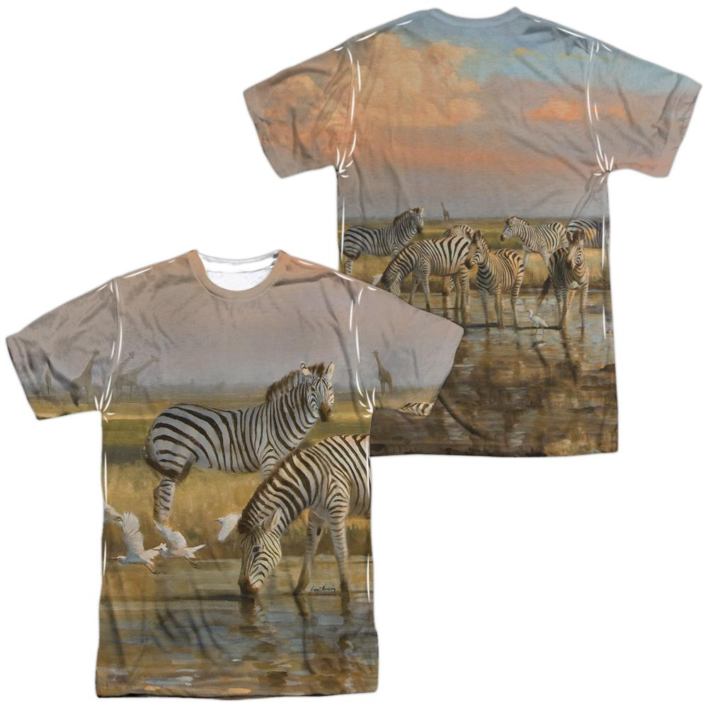 Wild Wings - Sundowners Adult All Over Print 100% Poly T-Shirt