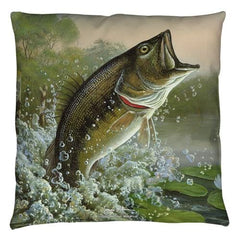 Wild Wings - Summertime 2 Throw Pillow