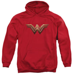 Wonder Woman Movie Wonder Woman Logo Adult Pull-Over Hoodie