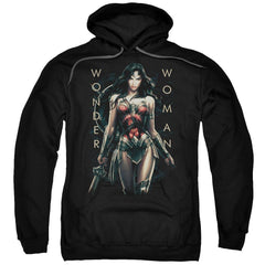 Wonder Woman Movie Armed And Dangerous Adult Pull-Over Hoodie