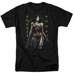 Wonder Woman Movie Armed And Dangerous Adult Regular Fit T-Shirt