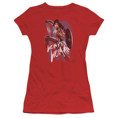 Wonder Woman Movie American Hero Junior T-Shirt