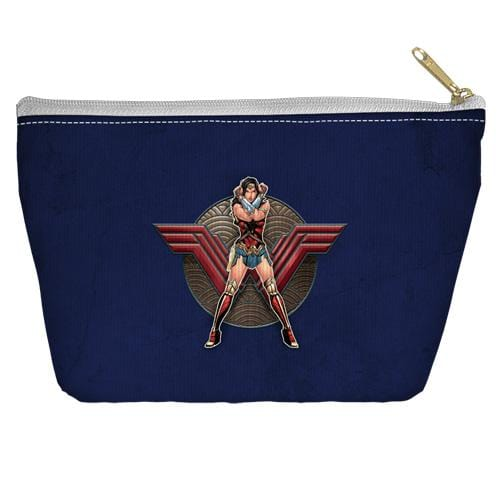 Wonder Woman Movie Warrior Emblem Accessory Tapered Bottom Pouch