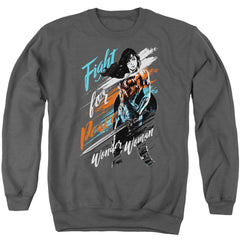 Wonder Woman Movie Fight For Peace Adult Crewneck Sweatshirt