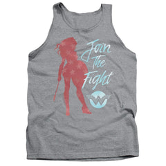 Wonder Woman Movie Freedom Fight Adult Tank Top