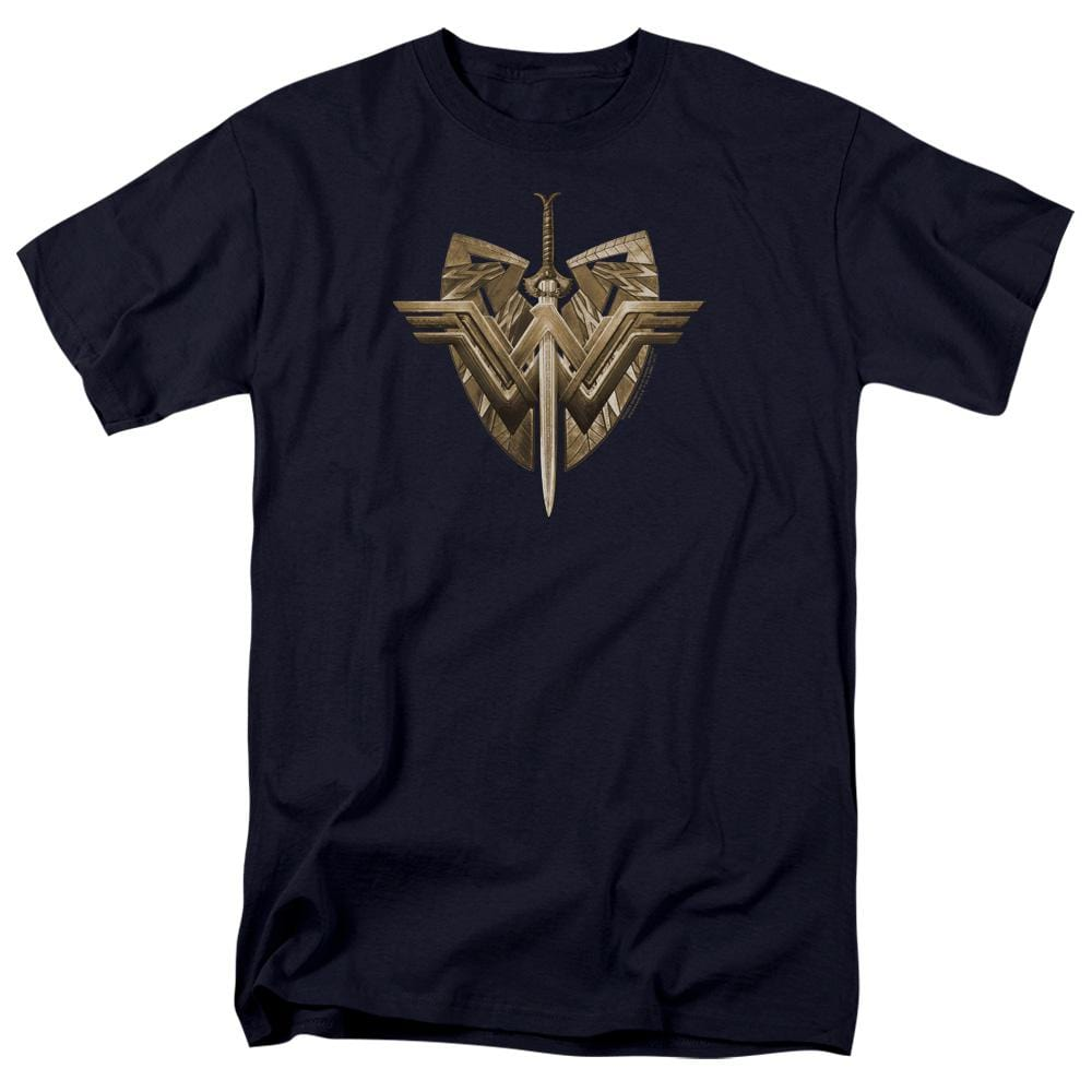 Wonder Woman Movie Sword Emblem Adult Regular Fit T-Shirt