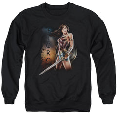 Wonder Woman Movie Fierce Adult Crewneck Sweatshirt