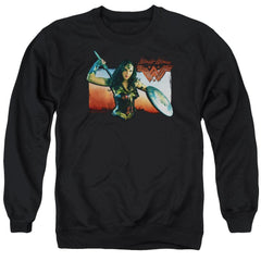 Wonder Woman Movie Warrior Woman Adult Crewneck Sweatshirt