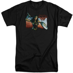 Wonder Woman Movie Warrior Woman Adult Tall Fit T-Shirt