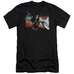 Wonder Woman Movie Warrior Woman Adult Slim Fit T-Shirt