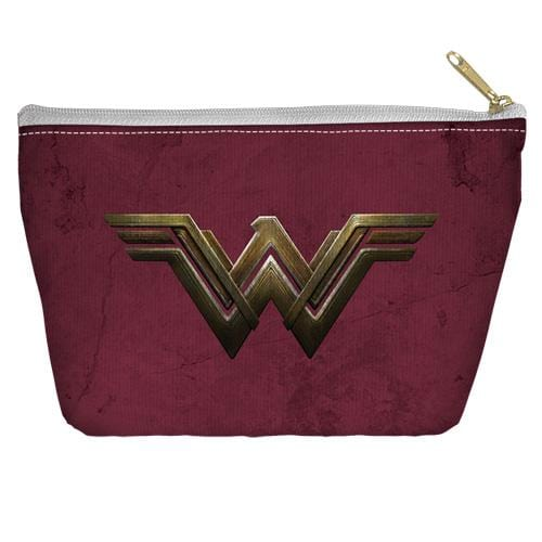 Wonder Woman Movie Emblem Accessory Tapered Bottom Pouch