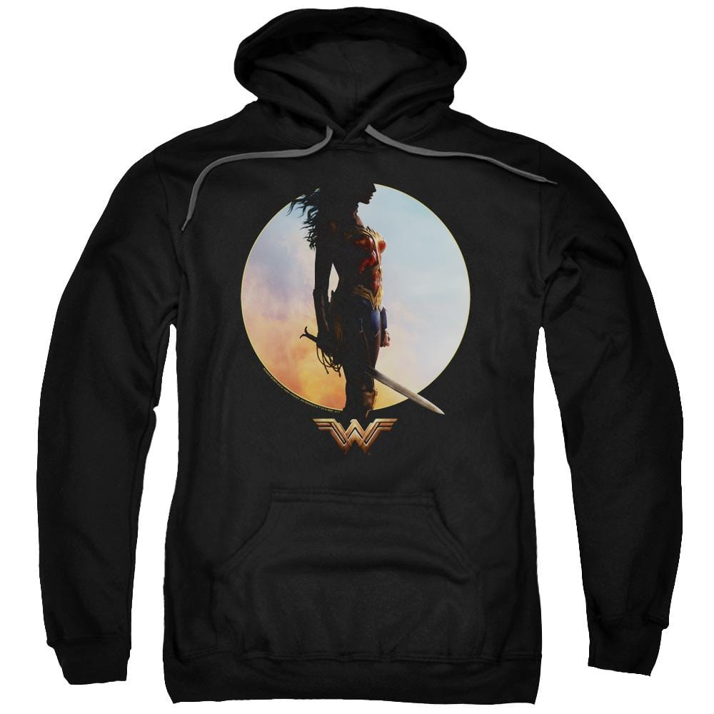 Wonder Woman Movie Wisdom And Wonder Adult Pull-Over Hoodie