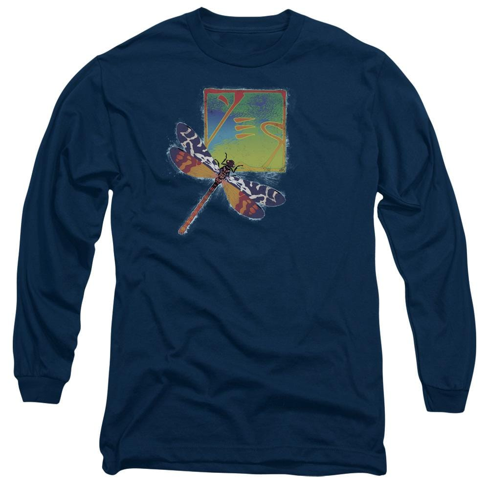 Yes Dragonfly Adult Long Sleeve T-Shirt