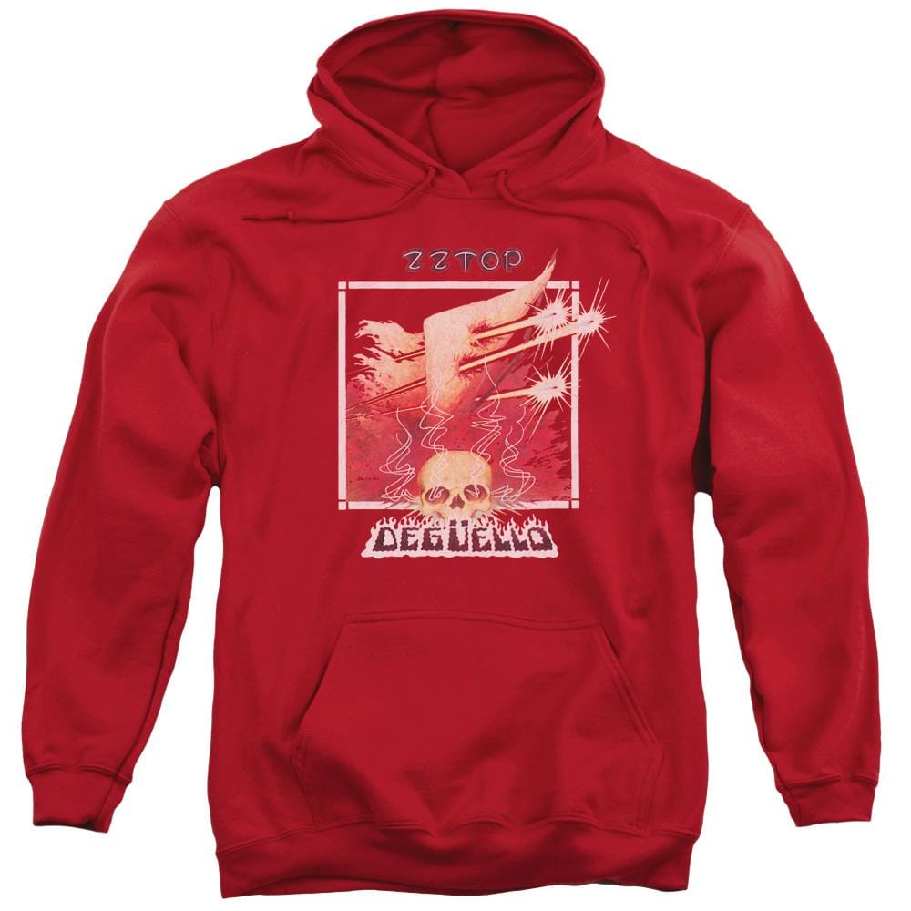 Zz Top - Deguello Cover Adult Pull-Over Hoodie