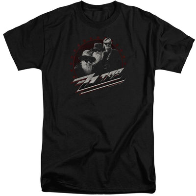 ZZ Top The Boys Men's Tall Fit T-Shirt