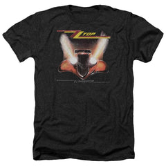 Zz Top - Eliminator Cover Adult Regular Fit Heather T-Shirt
