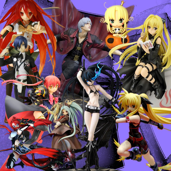 ANIME SUPER HERO FIGURINES PLUS