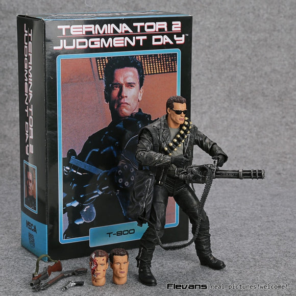 Terminator 2: Judgment Day T-800 Arnold Schwarzenegger  Model Toy 7