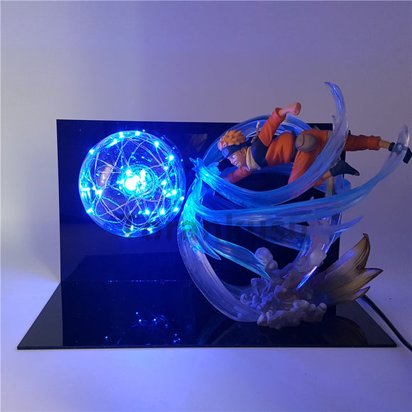 Naruto  Led Light Action Figure Toy Anime Naruto
