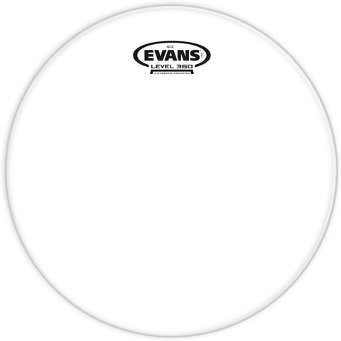 EVANS G PLUS 8' CLEAR - TT08GP - Musiclandshop