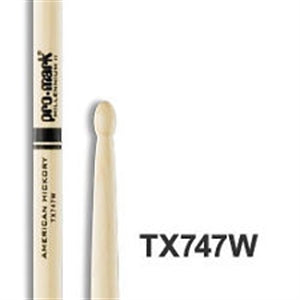 PRO MARK 747 ROCK (WOOD TIP) HICKORY - Musiclandshop