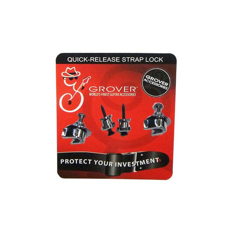 GROVER QUICK RELEASE STRAPLOCK - CHROME