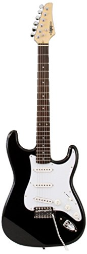LEGACY ST STYLE GUITAR BLACK
