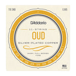 D'ADDARIO EJ95 11-STRING OUD SILVER PLATED COPPER STRINGS - Musiclandshop