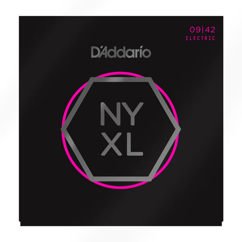 D'ADDARIO NYXL ELECTRIC STRINGS SUPER LIGHT .009-.042