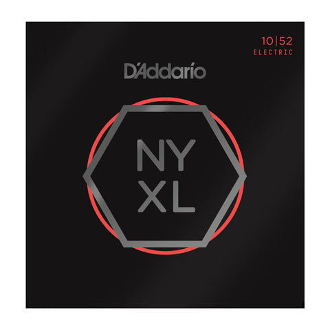 D'ADDARIO NYXL ELECTRIC STRINGS LIGHT TOP/ HEAVY BOT .010-.052
