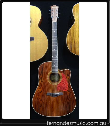 Sanchez SDC-18 RWD Acoustic/Electric Guitar - Musiclandshop