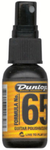 Jim Dunlop Formula 65ml (1 oz.) Guitar Polish And Cleaner J6542