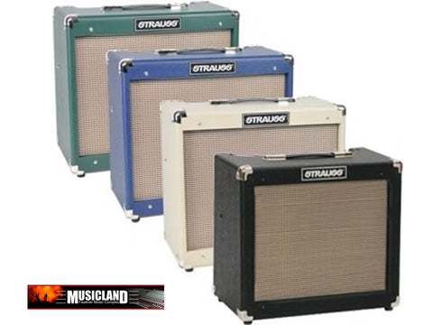 Strauss SVT-20R 20 Watt Combo Valve Amplifier with Reverb Tweed - Musiclandshop
