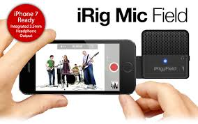 IK Multimedia iRig Mic Field Microphone for iOS Devices - Musiclandshop
