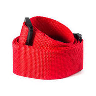 LM 2' POLY GUITAR STRAP RED