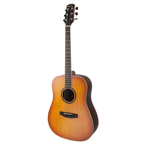 Martinez MD-15-DB 'Natural Series' Dreadnought Acoustic Guitar - Musiclandshop