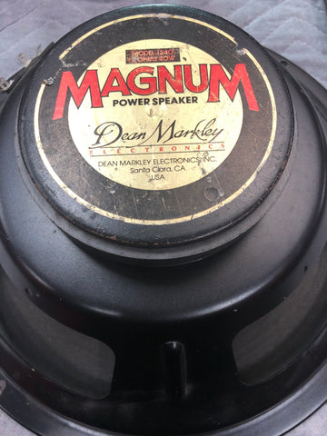 "Dean Markely Magnum Model 1240 Speaker 12"" 40Watt 8Ohm - Musiclandshop"