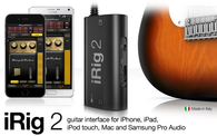 iRig 2 Guitar interface for iPhone iPad, iPod touch, Mac and Samsung pro audio