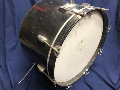 "VINTAGE 22"" BASS DRUM - Musiclandshop"