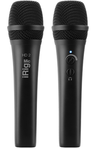 iRig Mic HD 2 High-quality digital handheld microphone for iOS & Mac.