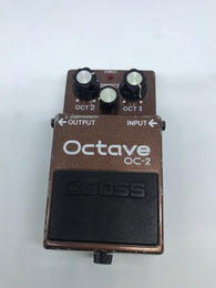 BOSS OC-2 Octave Pedal Made in Japan