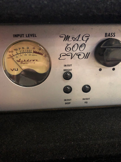 ASHDOWN MAG 600 EVOii Head