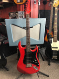 CANORA RED ST Style Guitar
