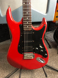 CANORA RED ST Style Guitar - Musiclandshop