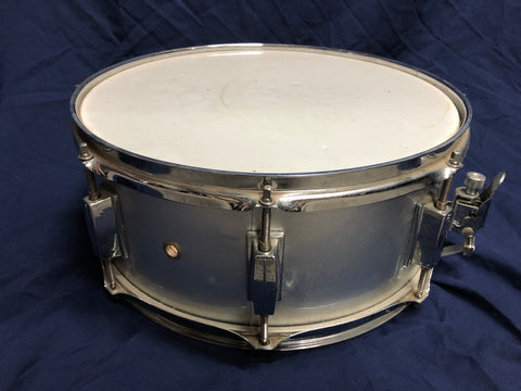 "Silver 14"" x 5"" Snare Unknown Brand Timber"