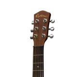 Martinez 'Mahogany Series' Mahogany Babe Travel Guitar (Natural Satin) - Musiclandshop
