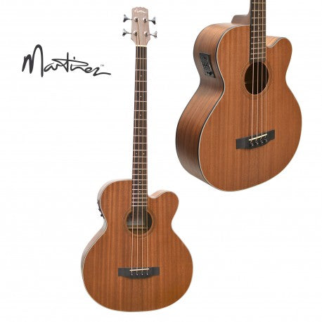 Martinez Acoustic Bass Solid Top MNBC-15S-MOP