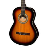 Martinez 'Slim Jim' Full Size Beginner Slim Neck Classical Guitar Pack with Built-In Tuner - Musiclandshop